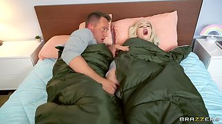 BRAZZERS: College Girl Kenzie Reeves really wants to fuck her new boyfriend on PornHD