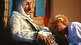 Amazing facial retro video with Cecile Carole and Madou Sall