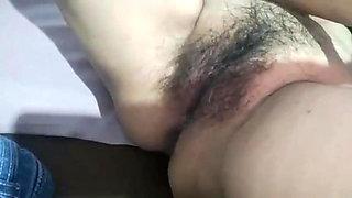 hairy china pussy