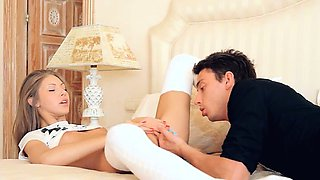 Aggressive lovemaking with true model