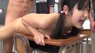 Jav Idol Suzu Ichinose Ambushed In School Gangbang With Creampie Rough Sex Outrageous Scene