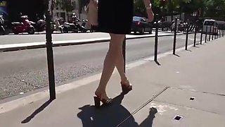 Shy French divorced teacher