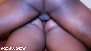 Ambitious Booty ebony analyzed