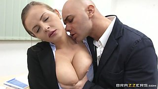 Big Tits at School: An Italian Anatomy Lesson. Candy Alexa, Christian Clay