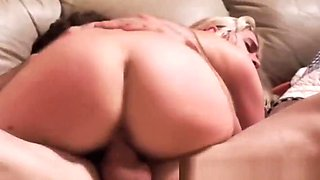 Stranded babe roughly fucked after oral