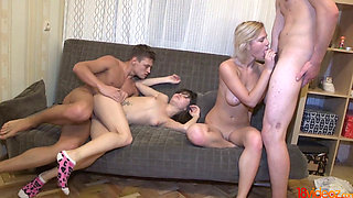 18 Videoz - Celebration turns into an orgy