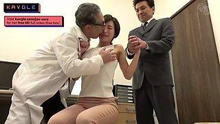 Super hot jav Japanese milf babe banging virgin