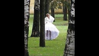 OMG Real Brides Voyeur Pics