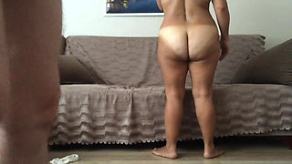 Turkish big ass mature getting fucked in her ass