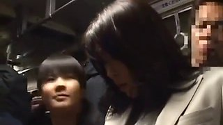 Sensitive milf was groped to orgasm on the bus pt2 on hdmilfcam.com