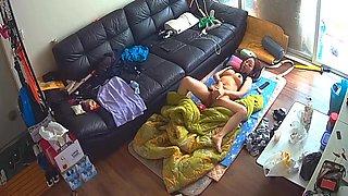 Korean Girl With Big Tits, Hidden Cam Masturbation