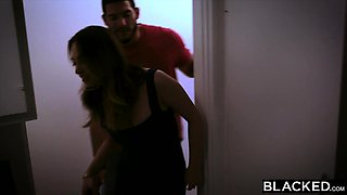 BLACKED Girlfriend Cheats With BBC Crush And Gets Dominated