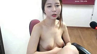 Korean hot camgirl sensual masturbation