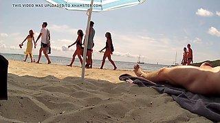 Beach reactions part 6
