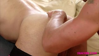 Hunk Lucas Leon dominates Cade Maddox tight asshole from behind