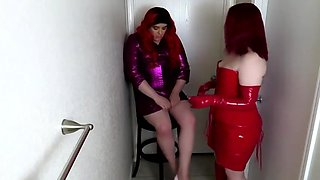Amanda Kiss - Sissy Maid Humiliated And Trained For Cock By Goddess Nyx