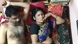 Desi Aunty And Uncle Enjoying Sex