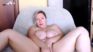 White booty Nat with huge natural tits and phat pussy