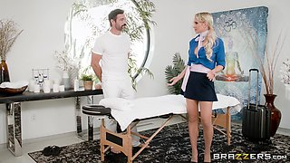 Sexy Alix doggystyle pounded hardcore in living room