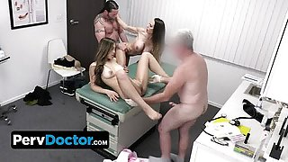 Kinky Perv Doctor And His Hot Big Titted Nurse