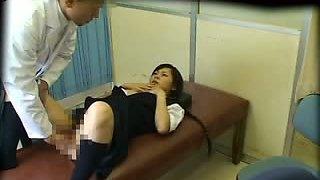 Schoolgirl used by School doctor (censored)
