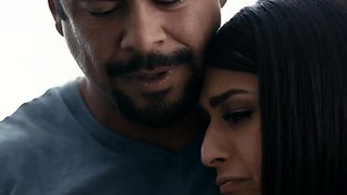 TS stepdaughter comforted by stepdad