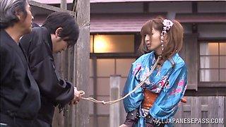 Geisha Girl Is Treated Like A Slave