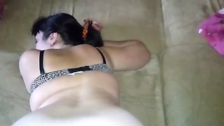 home vids with his wife a big booty