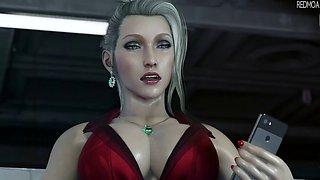 Final fantasy 7 : Scarlet 3d hentai