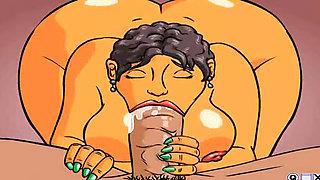 Hot animated porn cartoon