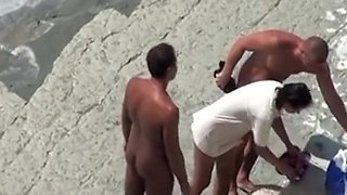 cuckold beach wife dogging fun