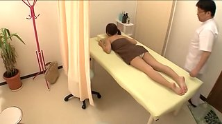 Cute petite Jap screwed in hot spy cam massage video
