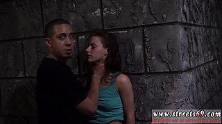 Crossdress fetish and aggressive teen Rough outdoor public fuckfest is Anya Olsens only