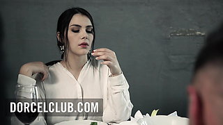 Valentina Nappi is insatiable and has an orgasm in jail